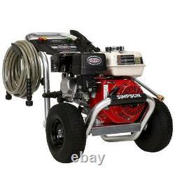 Simpson Pressure Power Washer Recoil Start 3400 PSI 2.5 GPM Gas Twist On Hose