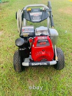 Simpson pro series 3400psi 2.4GPM Honda GS