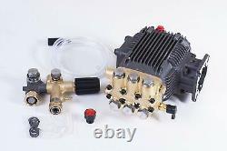 Triplex High Pressure Washer Pump fits Honda GX200 Dewalt DH3028 9HP Vanguard