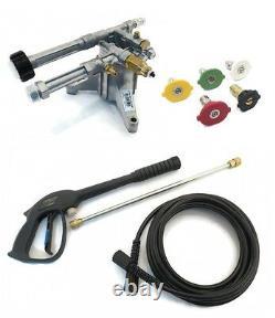 2400 Psi Ar Puissance Pompe Lave & Kit Spray Pour Sears Craftsman Honda Briggs Unités