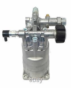 2600 Psi Pompe À Lave-pression Horizontale Pour Ridgid Blackmax Generac Husky Honda