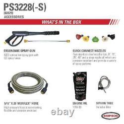 3300 Psi À 2,5 Gpm Honda Gx200 Avec Lave-pression À Eau Froide Aaa