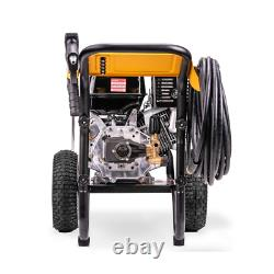 4400 Psi À 4.0 Gpm Gas Pressure Washer Powered By Honda With Aaa Triplex Pump C