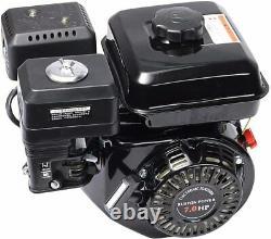 7.0hp 210cc Démarrage Horizontal De Gaz 168f Pour Honda Gx160 Gx200 Gx270 Ohv