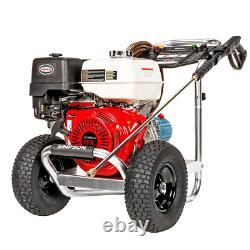 Aluminium 4200 Psi À 4,0 Gpm Honda Gx390 Lavage À Pression De Gaz D'eau Froide