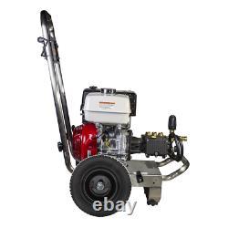 Be Professional 4000 Psi (gas Cold Water) Laveuse À Pression Avec Honda Gx390 En