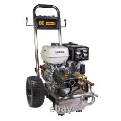 Be Professional 4000 Psi (gas-cold Water) Laveuse À Pression Avec Honda Gx390 Engi