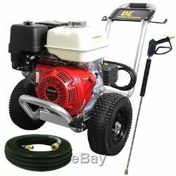 Be Professional 4000 Psi (gaz D'eau Froide) De Laveuse À Pression Avec Honda Gx390 En