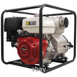 Be Wp-4013hr Pompe De Transfert D'eau 422 Gpm Honda Engine Gx390