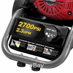 Be275has 2700 Psi (gaz D'eau Froide) De Laveuse À Pression Avec Le Moteur Honda Gc160