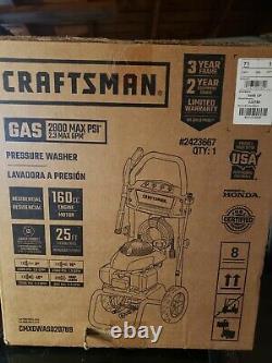 Craftsman (honda Engine) 2800-psi 2.3-gpm Laveuse À Gaz D'eau Froide