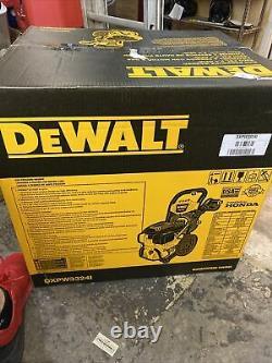 Dewalt Dxpw3324i Honda Cold Water Professional Laveuse À Pression De Gaz 3300 Psi Nouveau