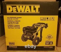 Dewalt Dxpw3625 3600psi 2.5gpm Honda Gx200 Cold Water Gas Presure Laveuse Nouvelle