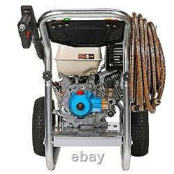 Gas Pressure Washer Cold Water 4200 Psi 4 Gpm Aluminium Frame Honda Eng