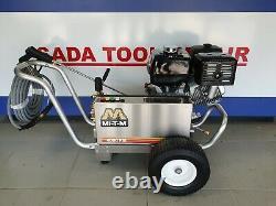 Gasoline Belt Drive Pressure Washer Cat Pump / Honda 4000psi Cba-4004-1mch