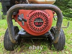 Generac Model 01539 Laveuse Sous Pression Avec Honda Gx270 Motor 9.0hp, 3000 Psi, 3.0 Gpm