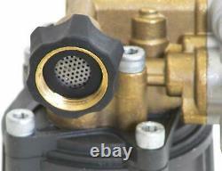 Horizontal Axial Cam Pressure Washer Pump Kit For 3100psi Troybilt Honda Gc160 +