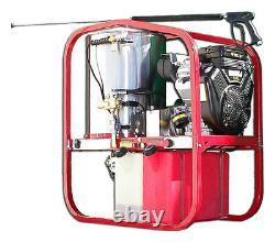 Hot2go Gaz Hot Water Pressure Washer Trailer Package 4000 Psi 3.5 Gpm Honda