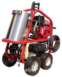 Hot2go Sh40004hh Gas Hot Washer Pressure Washer 389cc Honda