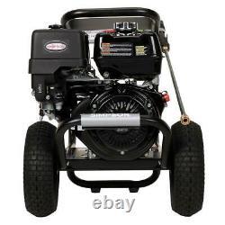 Laveur À Pression De Gaz Simpson 4200 Psi 4.0 Gpm Honda Gx390 Triplex Recoil Start
