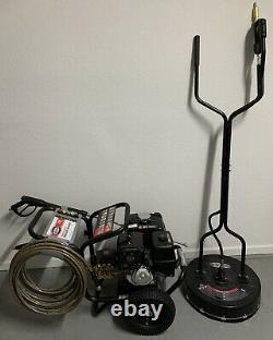 Laveur À Pression Simpson 4200 Psi Et Nettoyant De Surface De 20 Pouces Utilisé Une Fois Honda