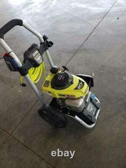 Laveuse À Gaz D'eau Froide Ryobi 3300 Psi 2.3 Gpm Avec Honda Gcv190 Idle Down