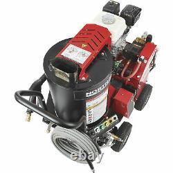 Laveuse À Pression D'eau Chaude Northstar Avec Moteur Honda Wet Steam 2700 Psi 2.5 Gpm