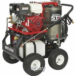 Laveuse À Pression D'eau Chaude Northstar Avec Moteur Honda Wet Steam 3000 Psi 4.0 Gpm