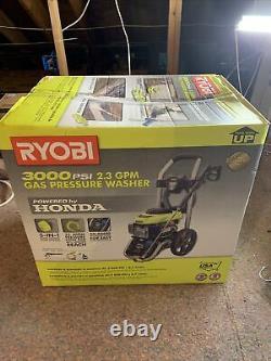 Laveuse À Pression De Gaz Ryobi Ry803001 Honda