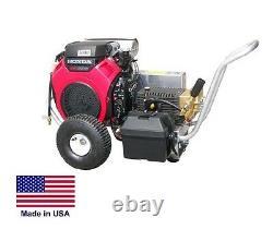 Laveuse À Pression Portable 5 Gpm 4000 Psi Cat Pump 20 HP Honda Gun & Plus