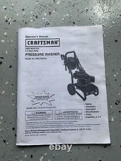 Laveuse Craftsman Honda Power