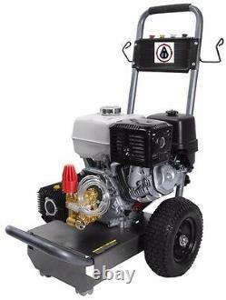 Laveuse De Pression Industrielle 4000psi 13hp Honda Gas Power Contractor Package