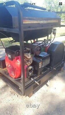 Mi-t-h Laveuse De Pression Commerciale 24 HP Honda Engine 5000 Psi