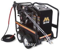 Mi-t-m Hsp-3504-3mgh Moteur Gaz Portable Hot Pression D'eau Laveuse 3500 Psi