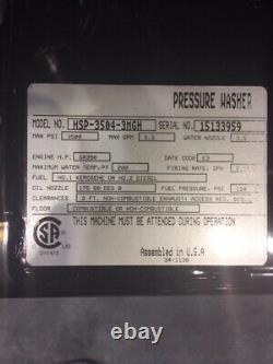 Mi-t-m Hsp3504 Machine À Laver À Pression D'eau Chaude-3mgh Honda Gx390 Modèle De Vente 2018