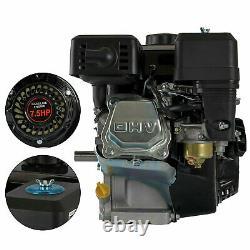 Moteur À Gaz Horizontal 4-stroke De 7.5hp Pour Honda Gx160 Horizontal Pullstart