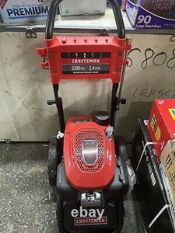 New Craftsman 3300-psi 2.4-gpm Laveur À Pression De Gaz Avec Moteur Honda (91113)