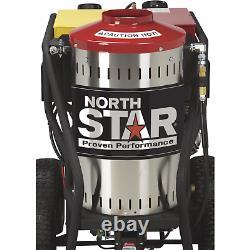 Northstar Gaz Alimenté Par Vapeur Humide Et Lave-pression D'eau Chaude Avec Moteur Holda