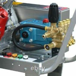 Pression De Gaz Laveuse Eau Froide 4000 Psi 13 HP Moteur Honda Courroie D'entraînement