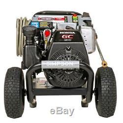 Pression Simpson Laveuse 3200 Psi 2,5 Gpm Honda Gc190 D'eau Froide Sans Entretien