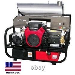 Pression Washer Hot Water Skid Monté 5.5 Gpm 4000 Psi 22 HP Honda 115v