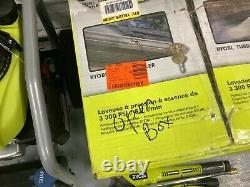 Ryobi 3300 Psi 2,3 Gpm Laveur À Pression De Gaz À Eau Froide Avec Honda Gcv190