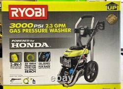 Ryobi Ry803001 Honda Gas Pressure Laveuse Nouveau