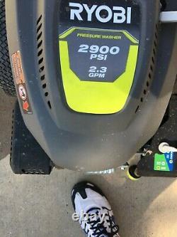 Ryobi Ry803001 Nettoyeur À Pression De Gaz Honda