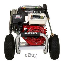 Simpson Aluminium 3,600 Psi 2.5 Pression Gaz Laveuse Avec Gpm Moteur Honda