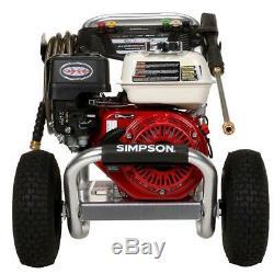 Simpson Aluminium 3400 Psi À 2,5 Gpm Honda Gx200 Avec Cat Triplex Plongeur Pompe