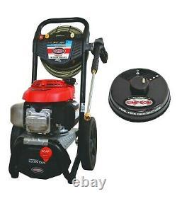 Simpson Megashot 3000 Psi @ 2.4 Gpm Honda Gas Cold Water Pressure Laveuse Ms60805