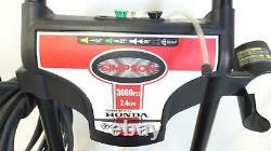 Simpson Ms60681 Megashot 3000 Psi 2,4 Gpm Honda Gcv190 Lave-vaisselle À Pression De Gaz