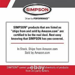 Simpson Nettoyage Msh3125 Megashot Machine À Pression De Gaz Alimentée Par Honda Gc190, 32