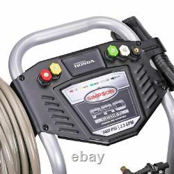 Simpson Powershot 3.400 Pression Psi 2,3 Gpm Gaz Laveuse Avec Moteur Honda